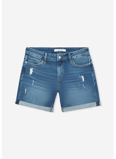 Mavi Pixie Vintage Jean şort İndigo